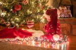 ChristmasBabySantahat