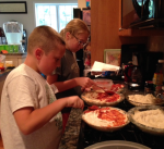 Deep pizza prep